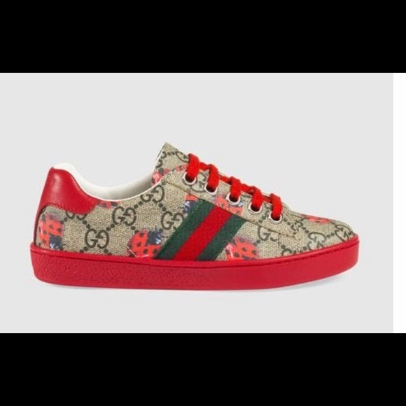 254e14dd3f6 Gucci Other - Gucci GG Lady Bug Low-top Sneakers